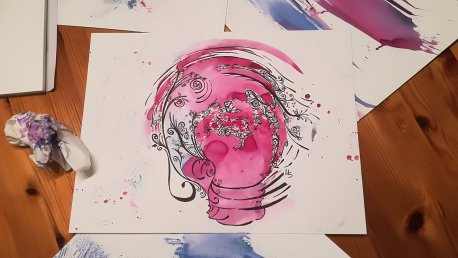 """Zufallsprodukt """"Jede Idee eine Welt für sich."""" (c) Manuela Sies"""