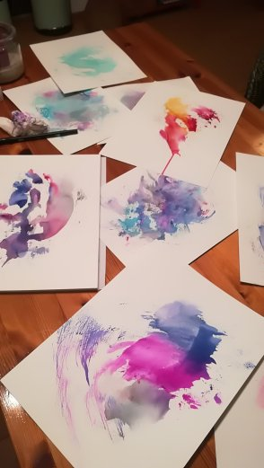 Kreativer Prozess. Fließen lassen. (c) Manuela Sies