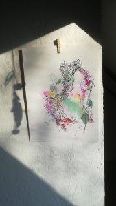 """Zufallsprodukt """"Jahreskreis/Sonnenwende """", M. Sies"""